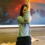 koeienkop yoga houding